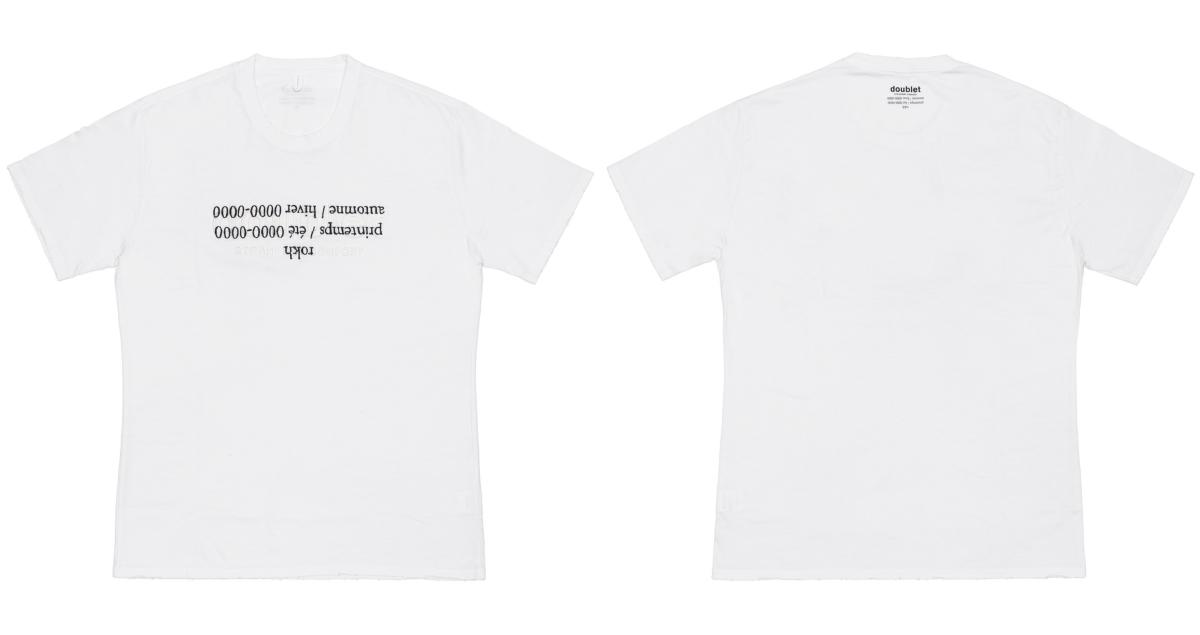Tシャツ ¥23,000/ドーバー ストリート マーケット ギンザ(ダブレット×ロク)