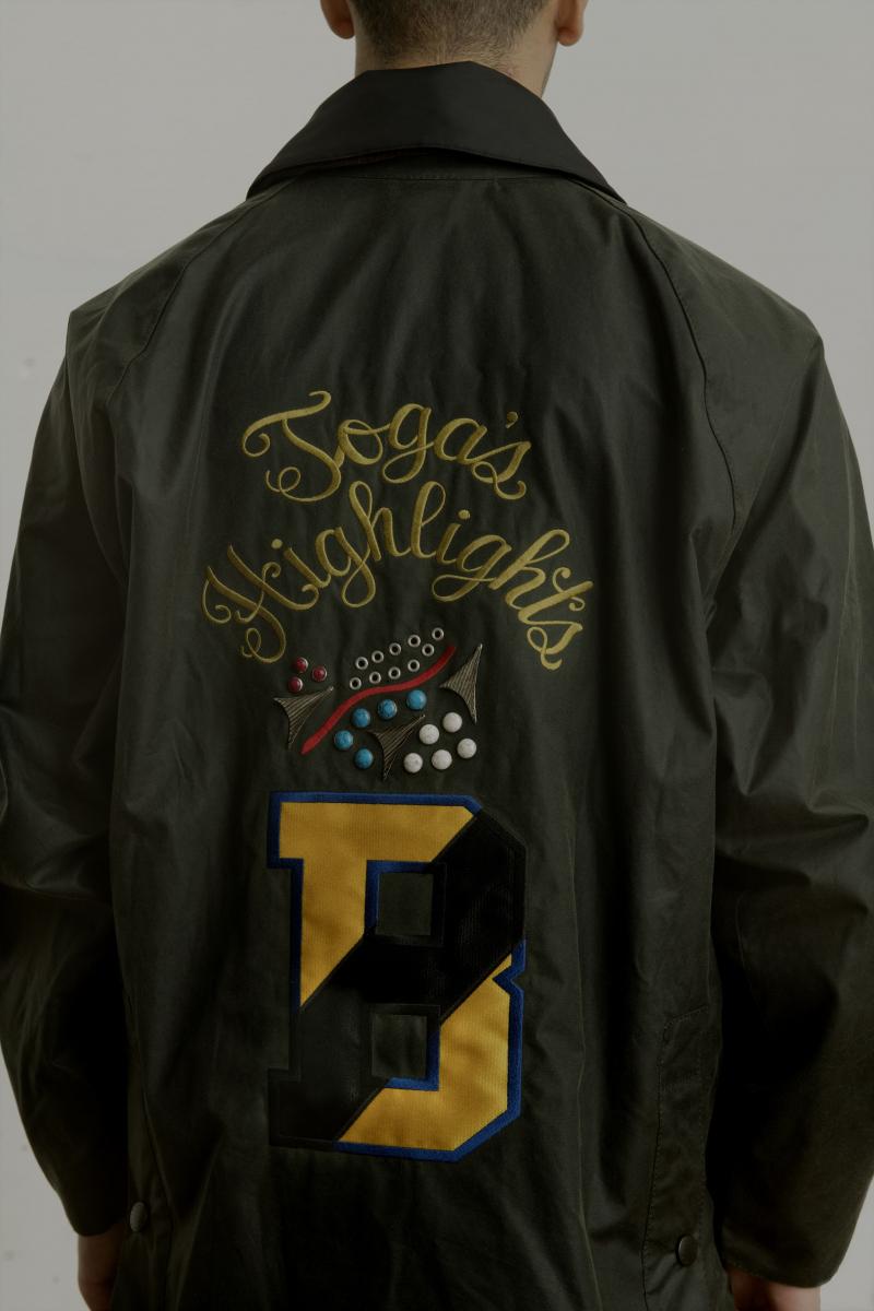 ジャケット「BEDALE」¥108,000/TOGA 原宿店(TOGA PULLA × Barbour)