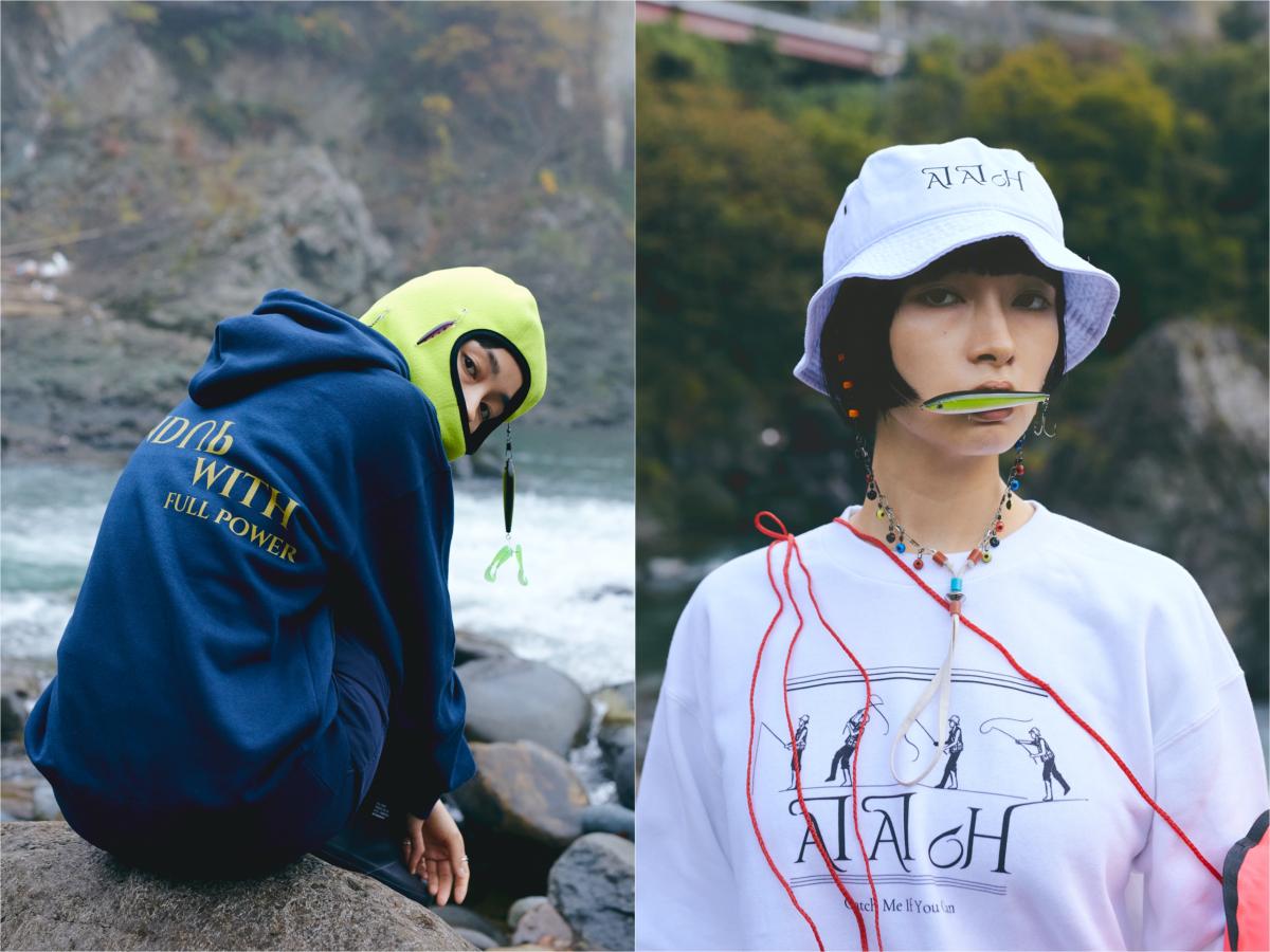 (左より)WINDUP WITH スウェット ¥11,000、(その他参考商品)/ジャーナルスタンダード(エイエイオー)