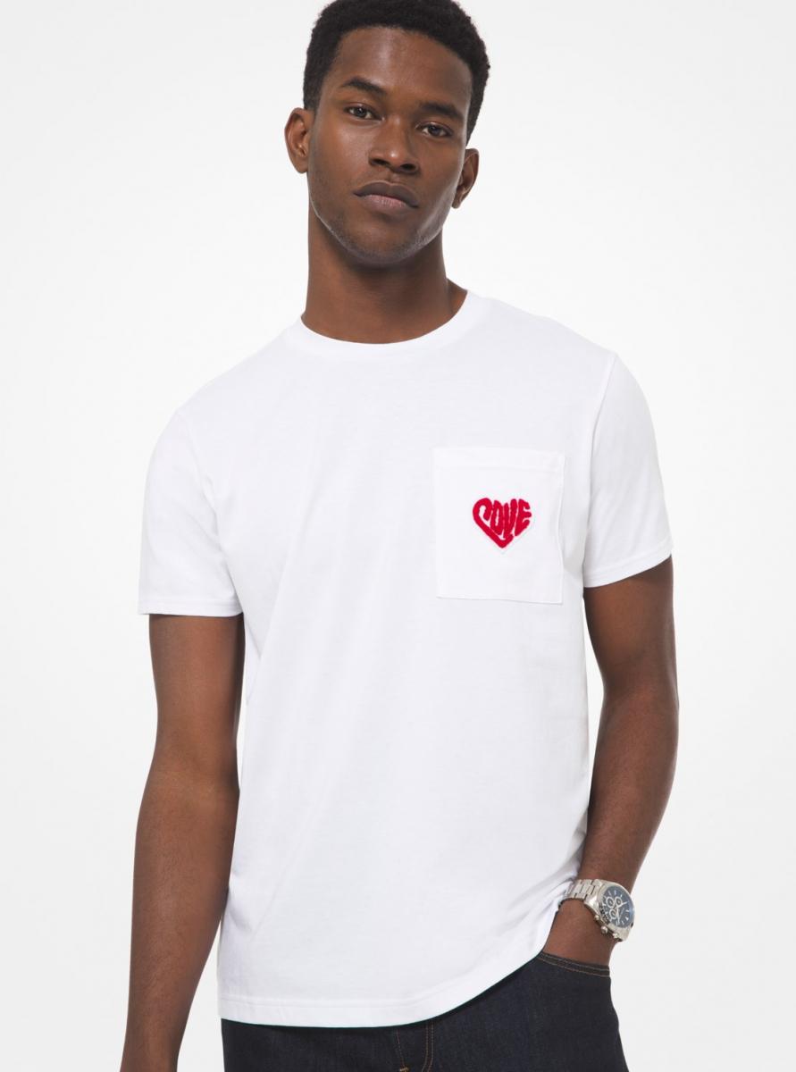 LOVE Tシャツ ¥7,600、LOVEトートバッグ ¥9,000(ともに税込)/マイケル・コース カスタマーサービス