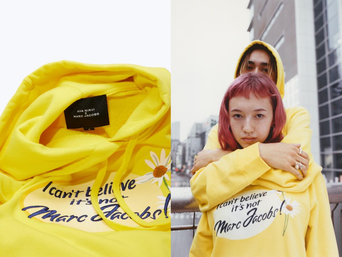 AVA NIRUI x MARC JACOBS Hoodie ¥28,000/マークジェイコブスカスタマーセンター