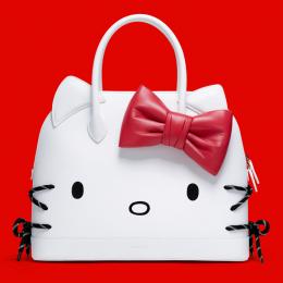 ハローキティがバレンシアガの「ヴィル」バッグの顔に!  明日発売の注目バッグ