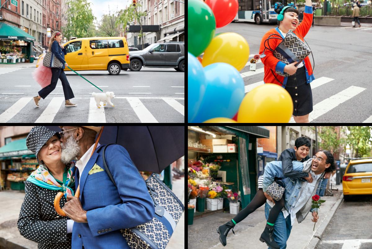 ケイト・スペード ニューヨークの2021年スプリングキャンペーン