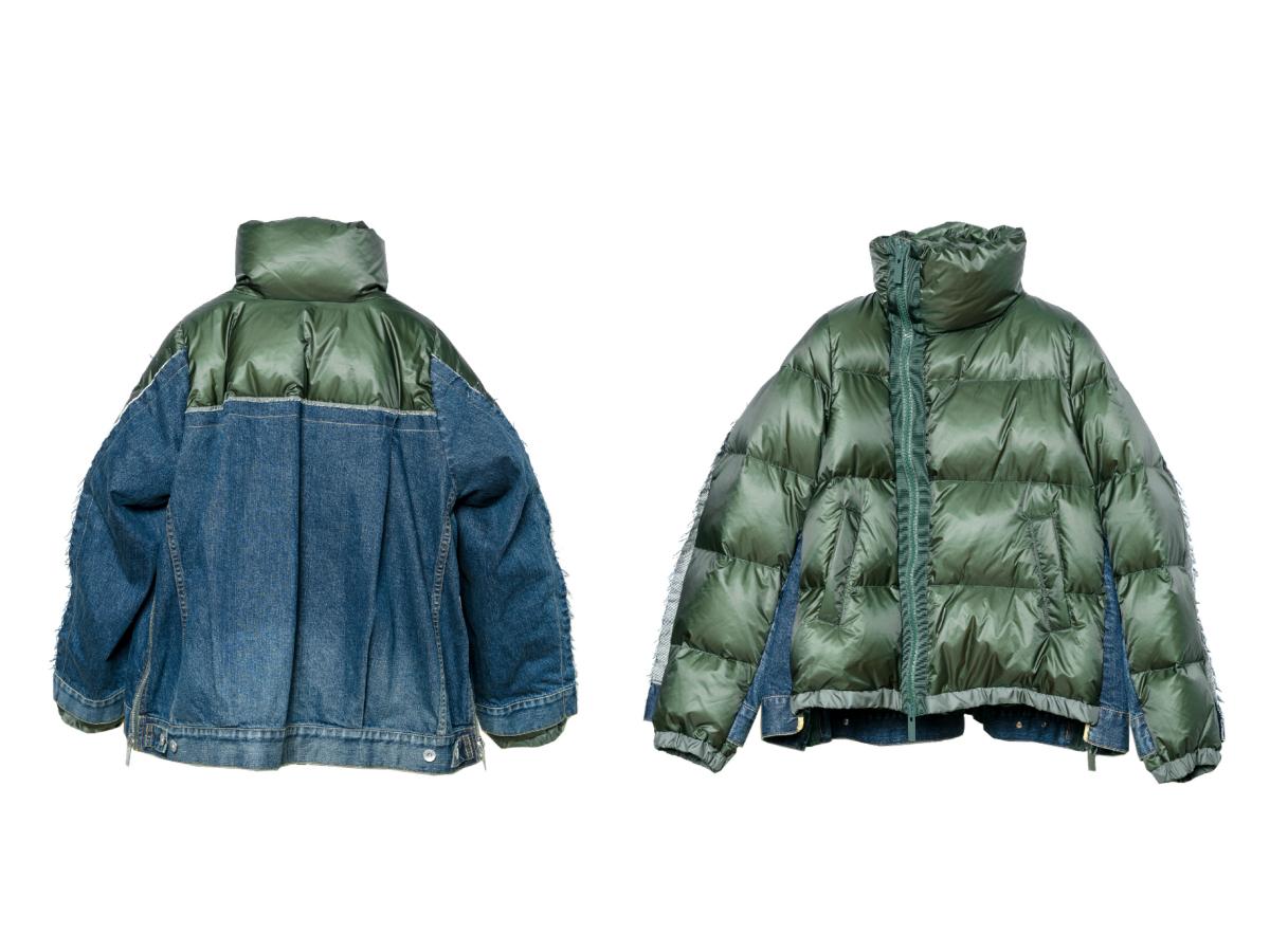 限定ジャケット(左)ウィメンズ:¥129,000、(右)メンズ:¥143,000/サカイ