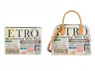 エトロのヒストリーがタブロイド紙に!? 日本限定のバッグやウェアが展開スタート