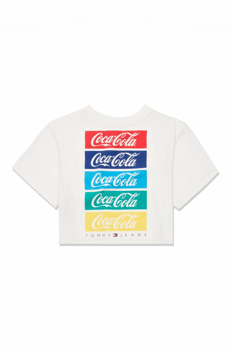 TJW TOMMY X COCA COLA REPEAT TEE ¥7,000/トミー ヒルフィガー カスタマーサービス(トミー ジーンズコカ•コーラ)