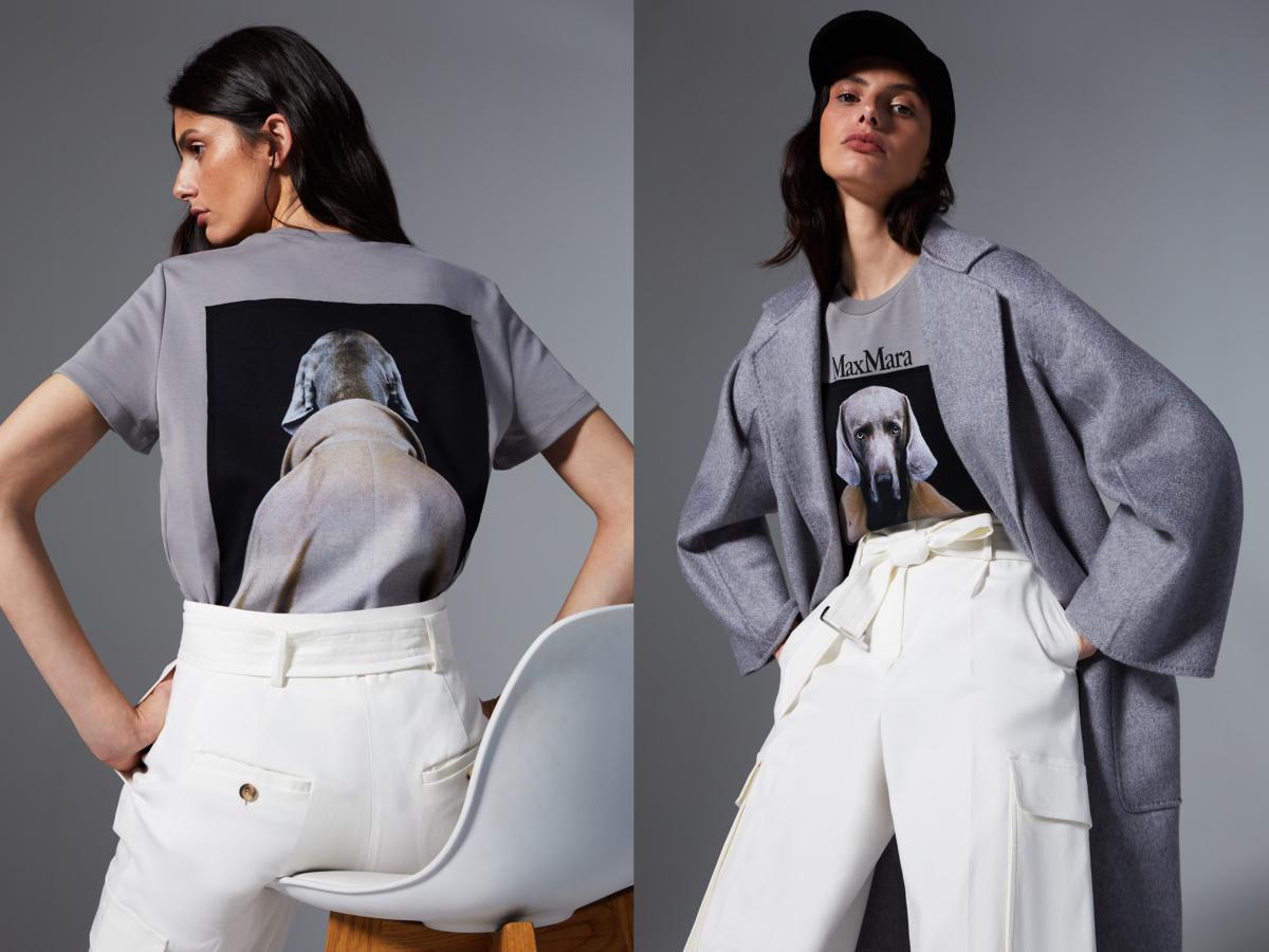 「7 for 70」Tシャツ アニバーサリー カプセル コレクション 各¥39,000/マックスマーラ ジャパン(マックスマーラ)