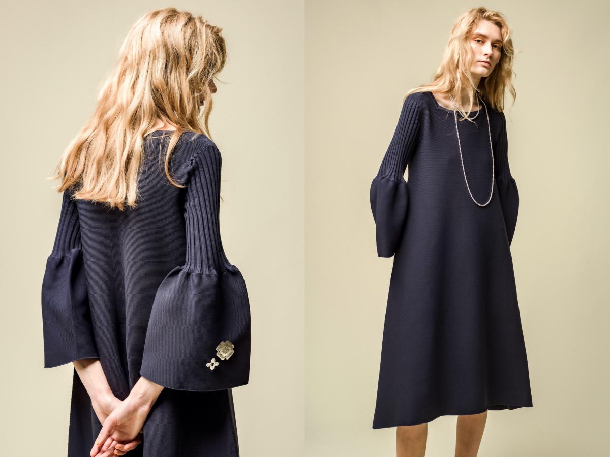ドレス ¥59,400(その他参考商品)/ロンハーマン(CFCL)