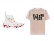 桜色がポイント! レッド ヴァレンティノの限定スニーカーと京都限定Tシャツ