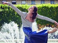 プチバトーがパリ・オペラ座のエトワール、マリ=アニエス・ジロとのコラボレーションを発表