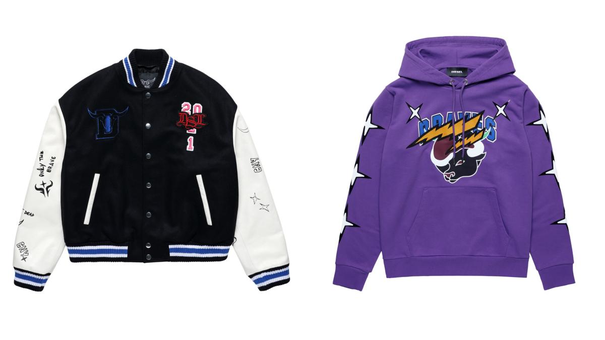 (左より)ジャケット ¥105,000、ジャケット ¥65,000/ディーゼルジャパン