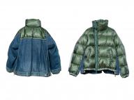 ダウンにデニム素材を合わせた限定ジャケットも! サカイ 渋谷スクランブルスクエアがオープン