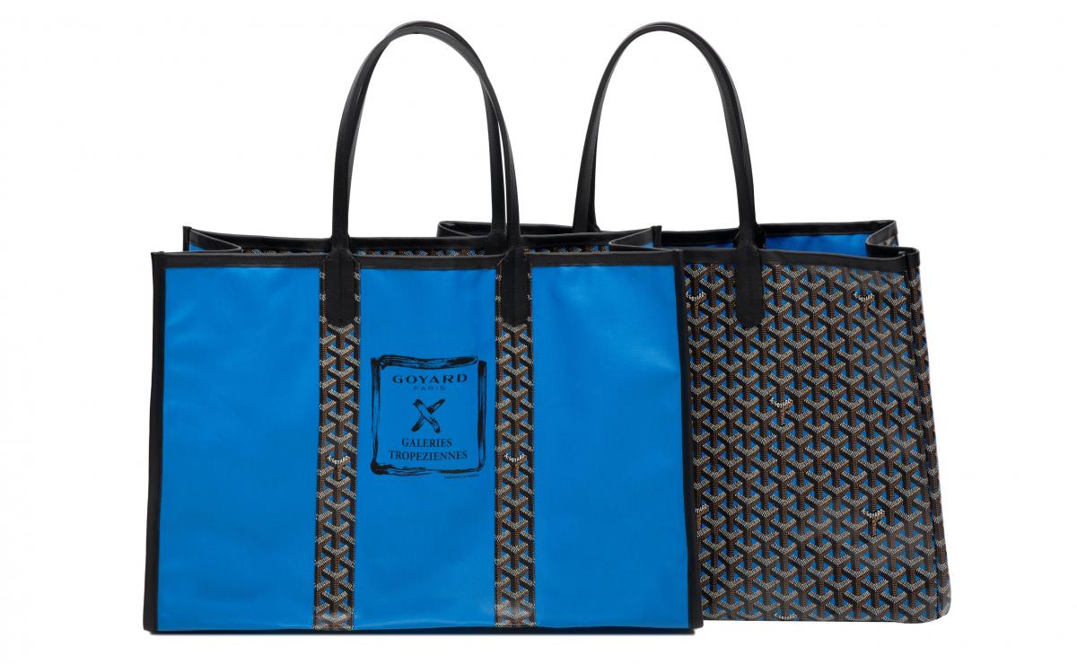 「ロズリン」(H38×W55×D23cm)¥220,000(ブルー)/ゴヤール ジャパン