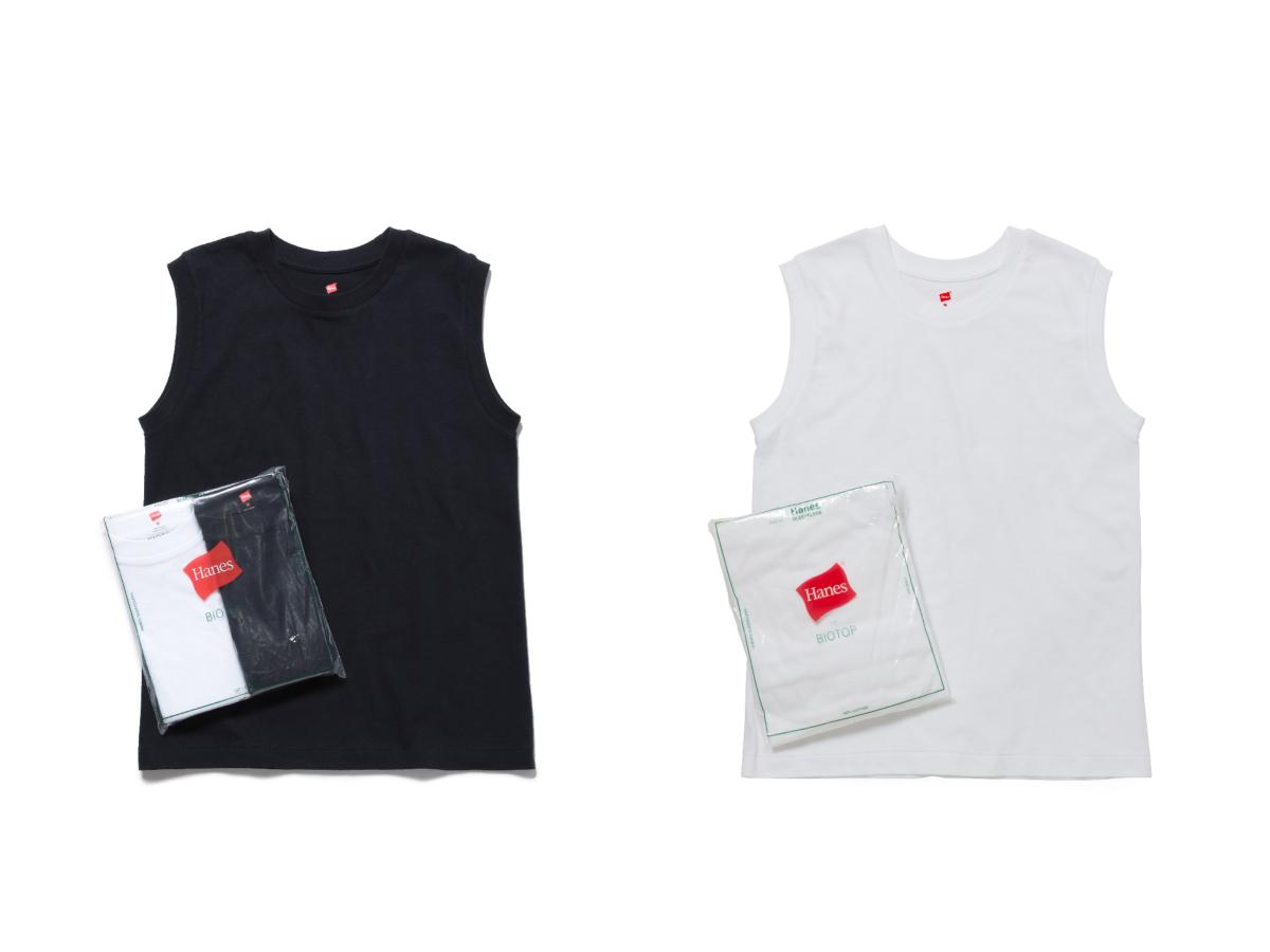 Womens Sleeveless T-shirts(2枚パック)  各¥4,800
