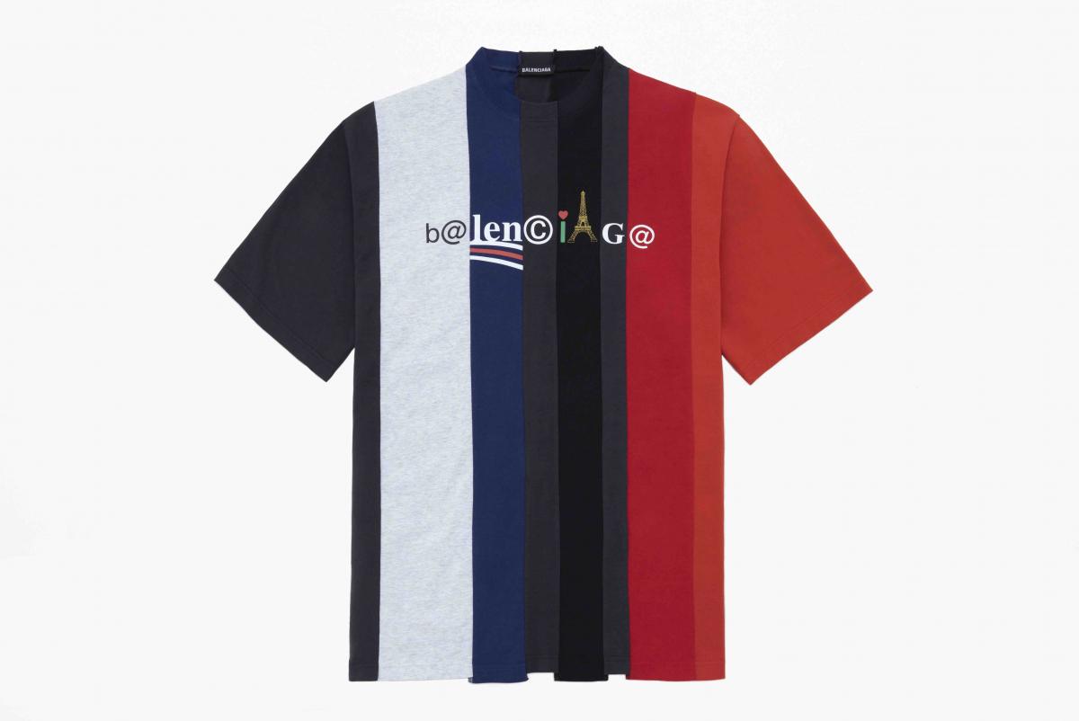 カットアップ Tシャツ ¥70,000/バレンシアガクライアントサービス