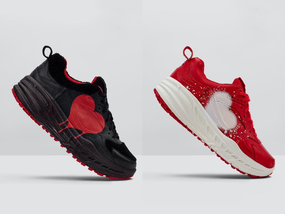CA805 x Valentine Sneaker(White、Red、Black)¥18,000 ※2月7日(金)発売予定/UGG®︎/ Deckers Japan