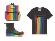 レインボーカラーで彩られたブーツやTシャツも! ハンターの「プライドコレクション」