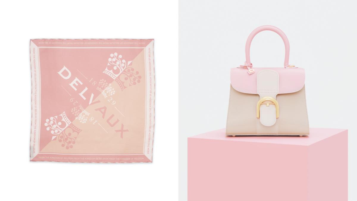 (左より)Scarf Royal Logo(50×50cm)¥27,500、