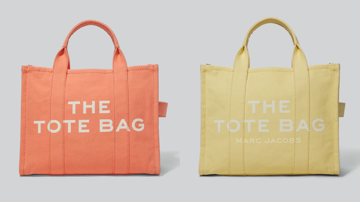 THE SMALL TRAVELER TOTE(H26×W33×D14cm)¥29,000/マーク ジェイコブス カスタマーセンター