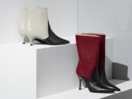 フルラ銀座店だけの限定アイテム! 新作バイカラーのブーツ2型とジュエリーを展開中