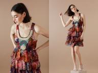 デシグアル×クリスチャン・ラクロワによるアイコニックなドレスが数量限定で復刻!