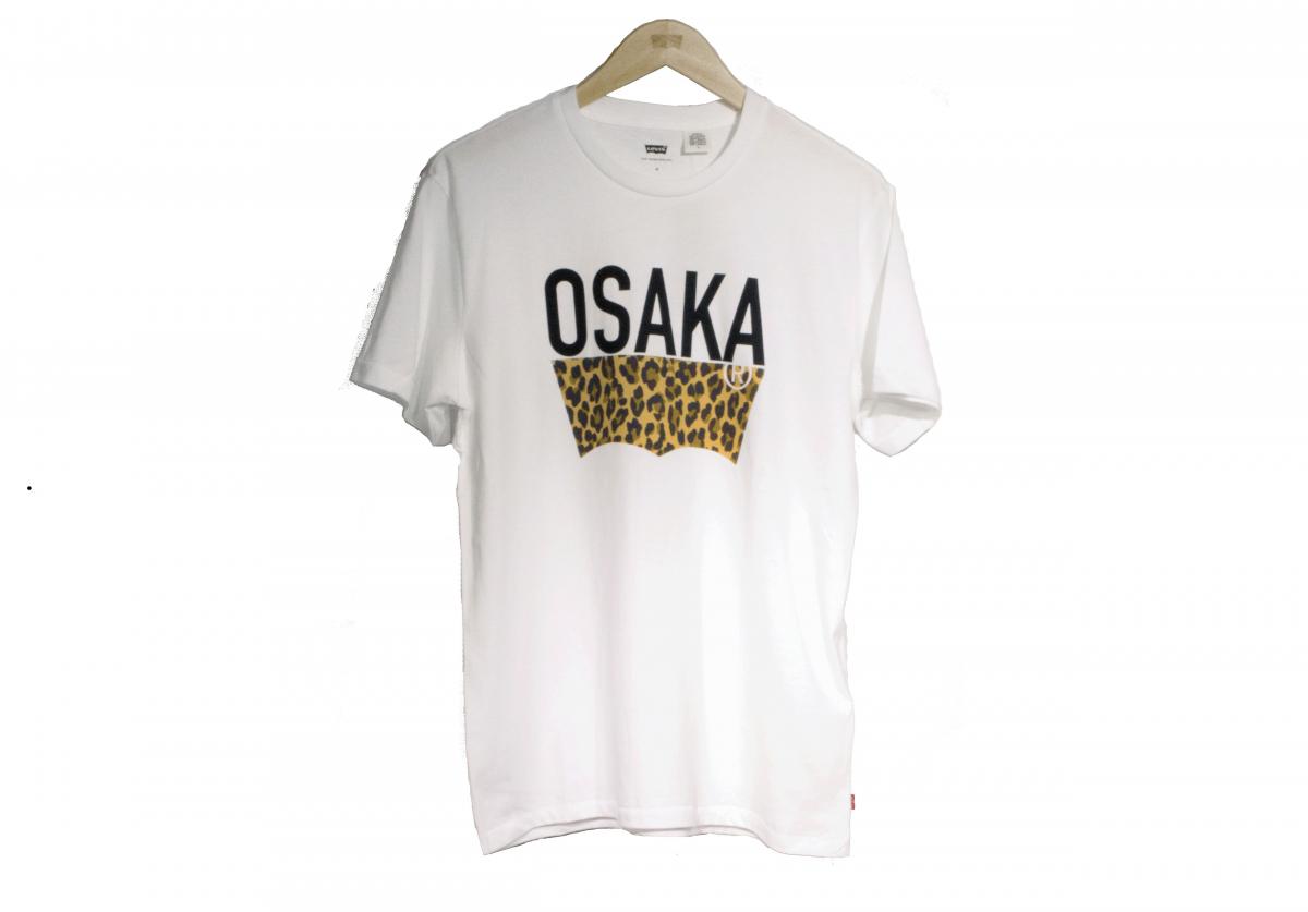 「OSAKA T シャツ」 4,000 円(大阪店限定アイテム、税抜き)