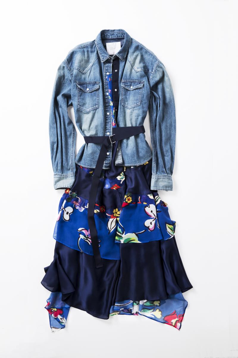 ウィメンズドレス ¥137,000/sacai(sacai gem)