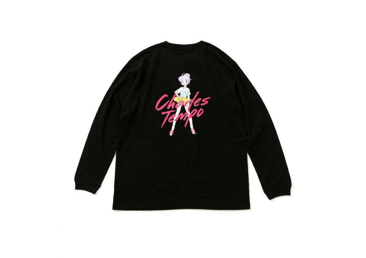 ロングTシャツ ¥7,000/シャルル シャトン ©ぴえろ
