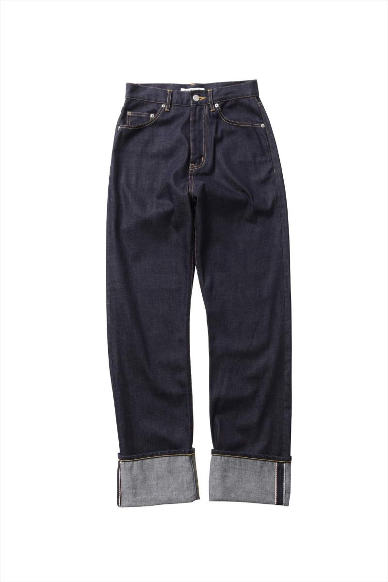セルヴィッジデニム5ポケットウーマンフィット ¥27,000/ビューティフルピープル