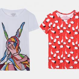 A|Xアルマーニ エクスチェンジが世界の若手アーティストとコラボしたTシャツ 「#st_ART」を限定店舗で発売!