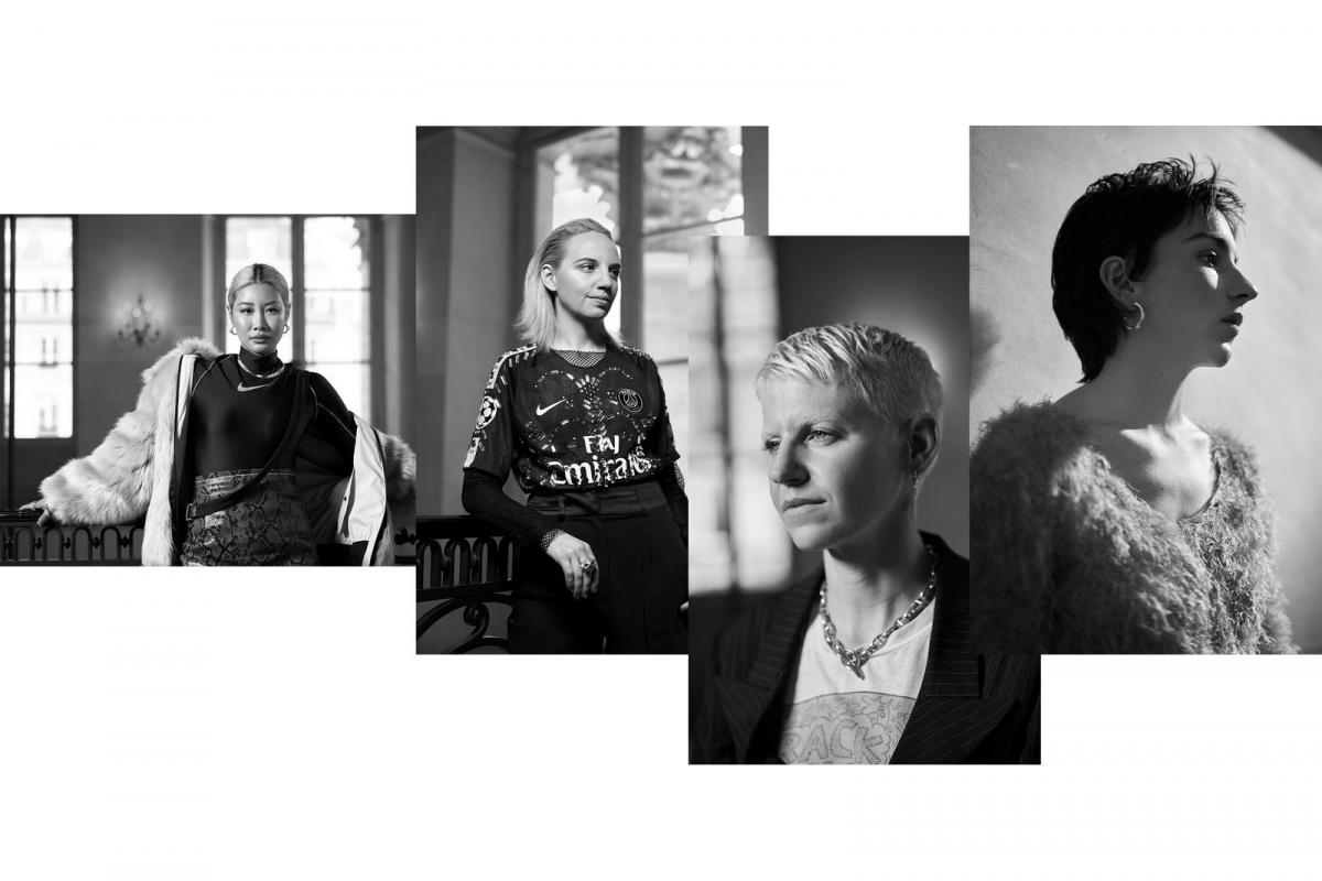 アンブッシュ®ユン、コシェのクリステル・コシェー、メイドミーのエリン・マギー、そしてマリーン セルのマリーン・セル