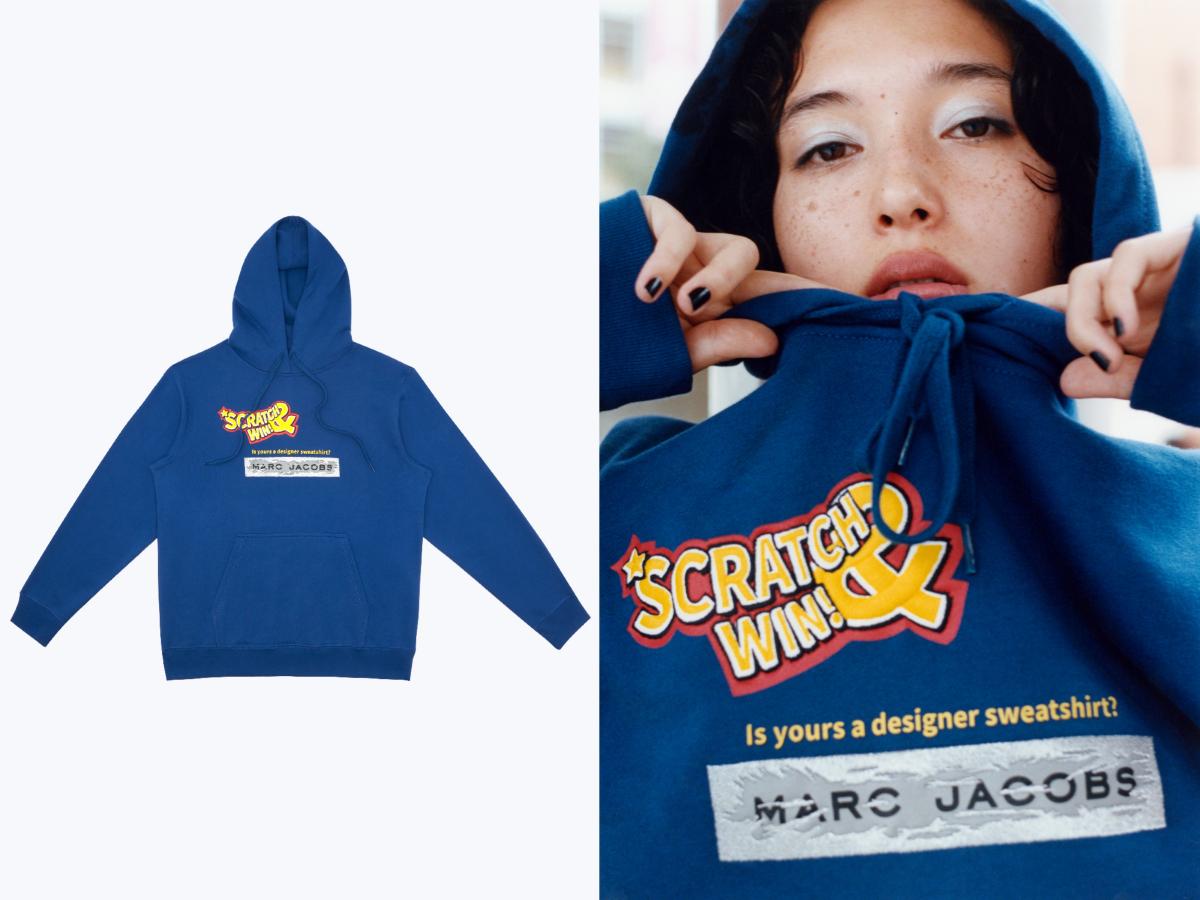 IDEA x MARC JACOBS Hoodie ¥28,000/マークジェイコブスカスタマーセンター
