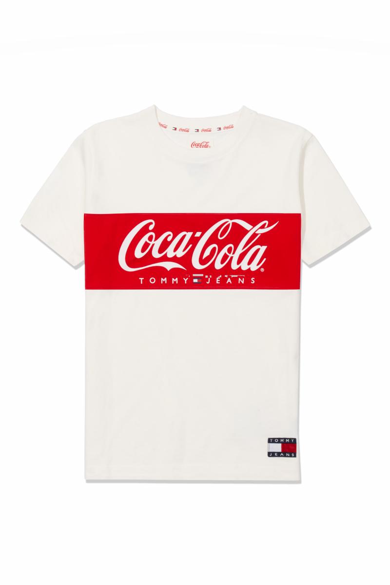 TJW TOMMY X COCA COLA TEE ¥7,000/トミー ヒルフィガー カスタマーサービス(トミー ジーンズコカ•コーラ)