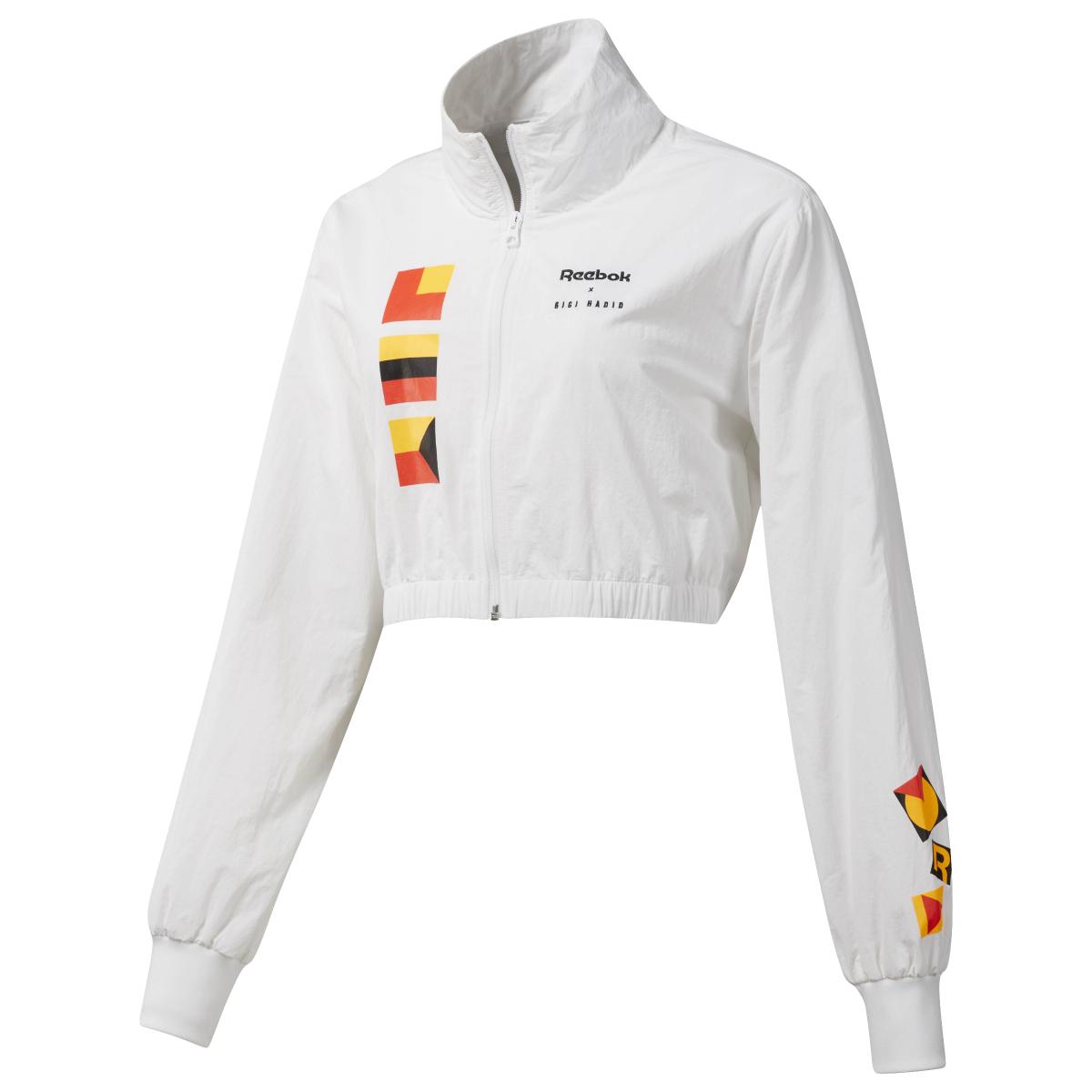CL GH トラックジャケット ¥9,709(税込)/リーボック クラシック(リーボック × ジジ・ハディッド コレクション)