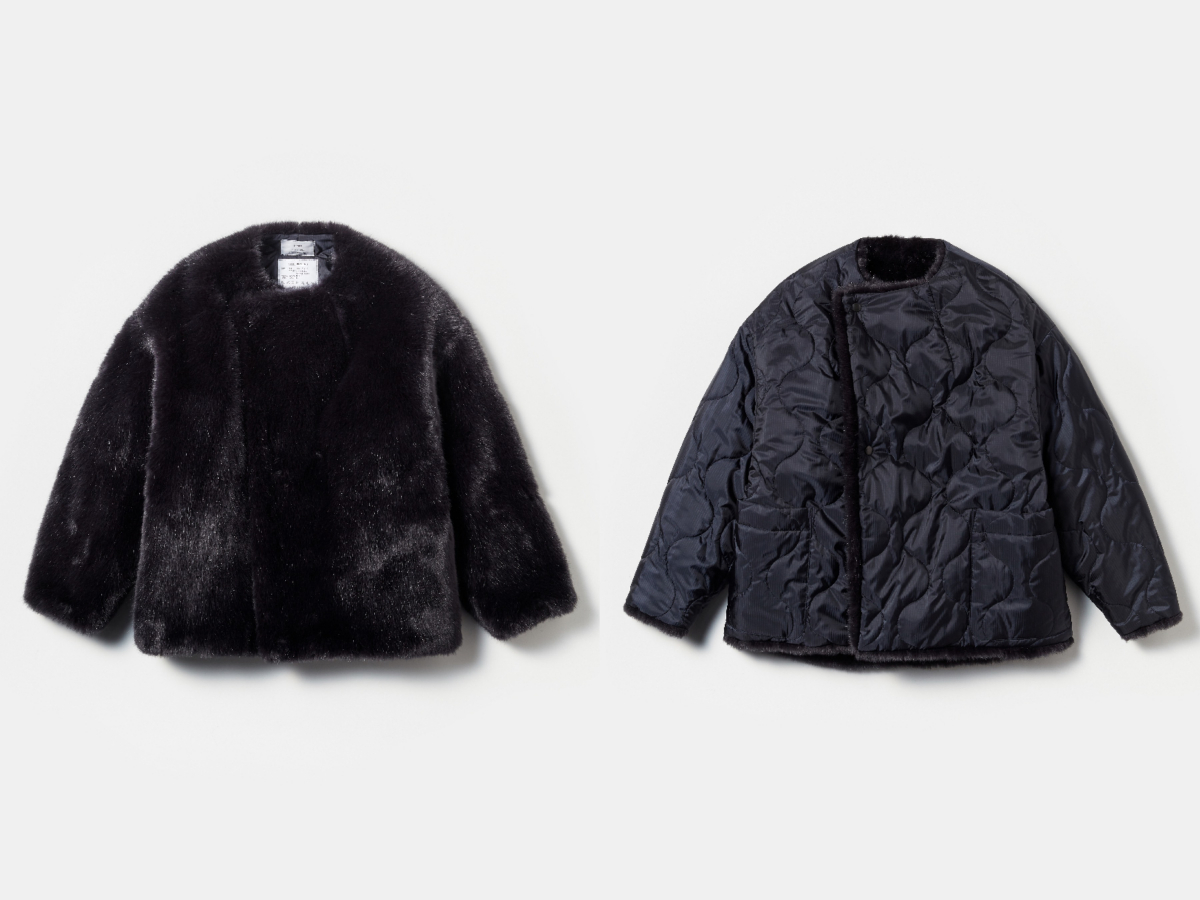 FAUX FUR REVERSIBLE COAT ¥79000/ハイク(エディション表参道店ヒルズ店)