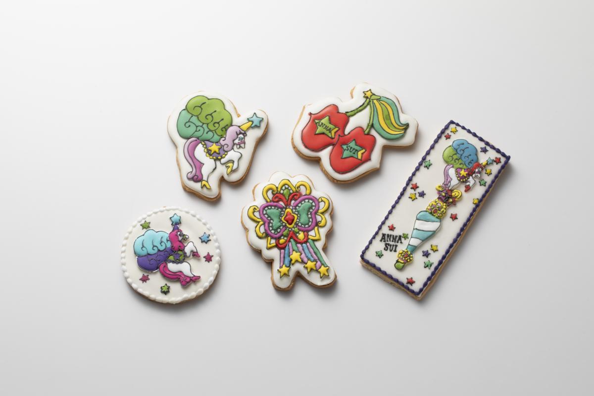 Pop ART × Foods アイシングクッキー 各¥1,500〜¥2,000/アナ スイ