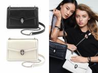 ブルガリから、ブラック&ホワイトのクラシックな新作バッグが登場!