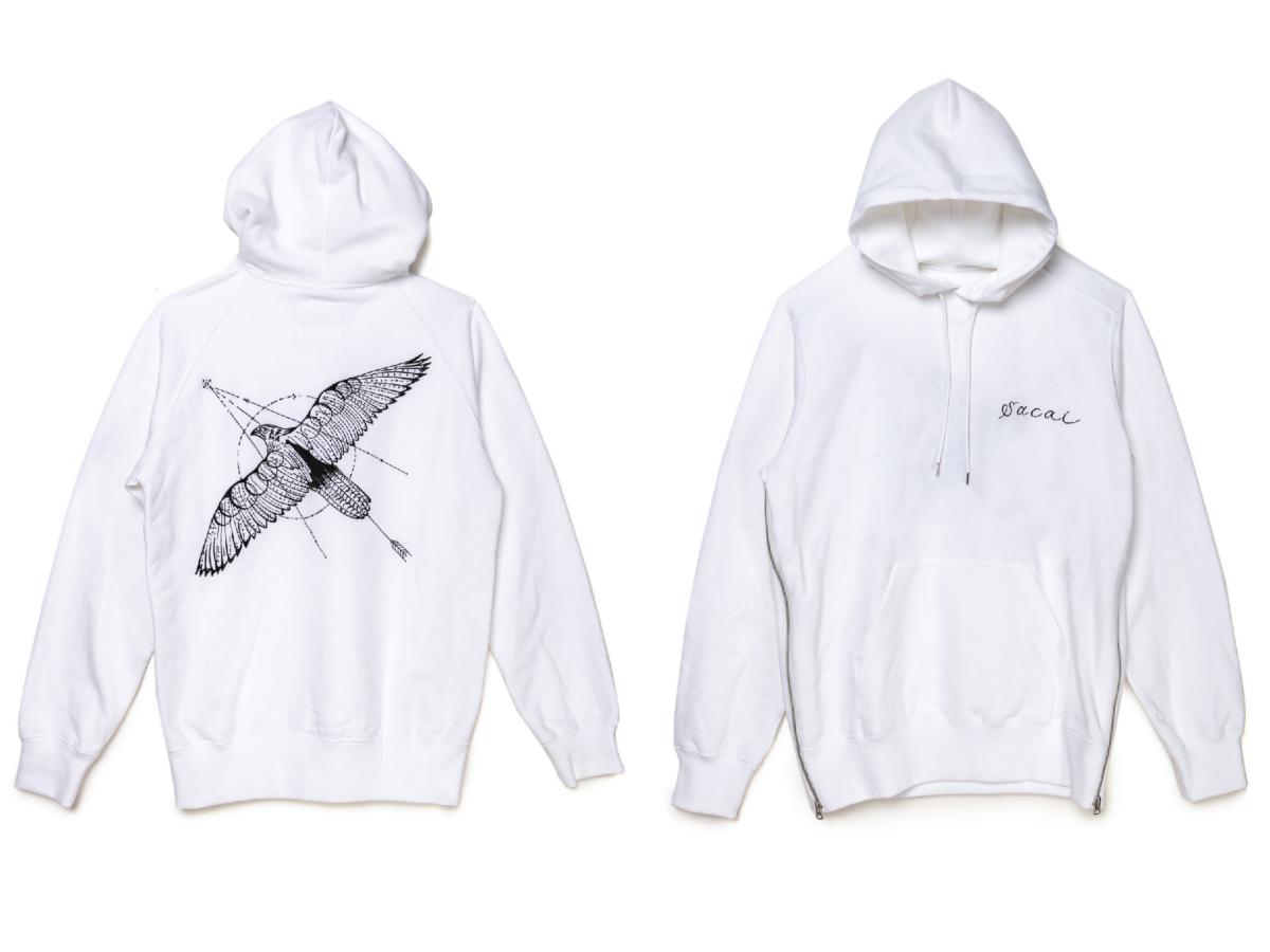 ロングスリーブTシャツ ¥42,000(ユニセックス)/サカイ