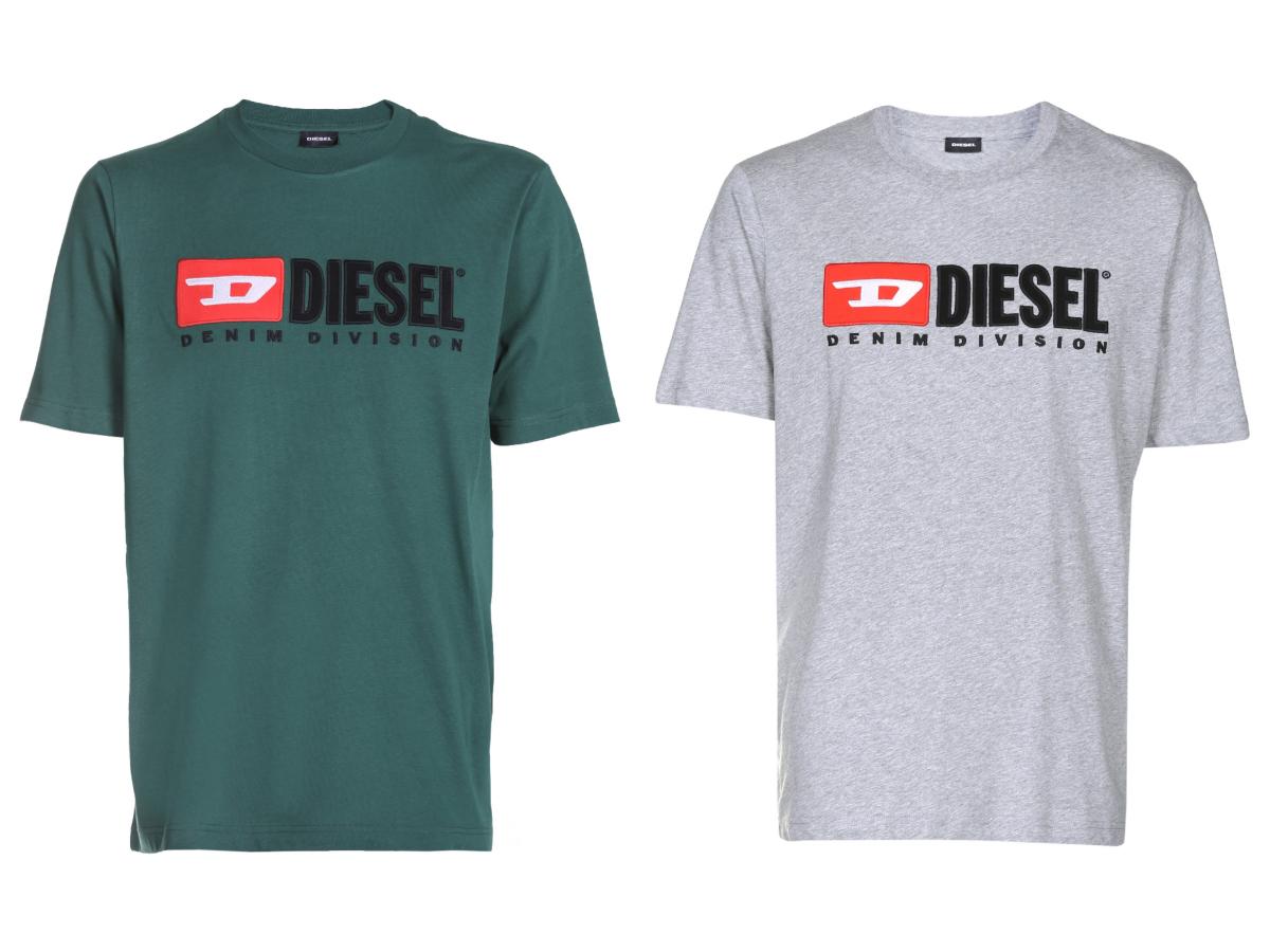 Tシャツ¥9,800・デニムパンツ¥32,000・ブーツ¥36,000/ディーゼル ジャパン(ディーゼル) Tシャツ¥9,800・デニムパンツ¥29,000・ブーツ¥37,000/ディーゼル ジャパン(ディーゼル) Tシャツ¥9,800・その他(参考商品)/ディーゼル ジャパン(ディーゼル)