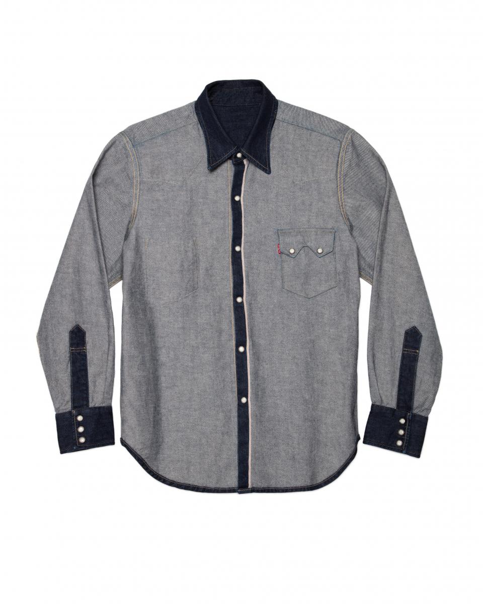 Inside Out Western Shirt ¥22,000/ビームス ジャパン(リーバイス®×ビームス)