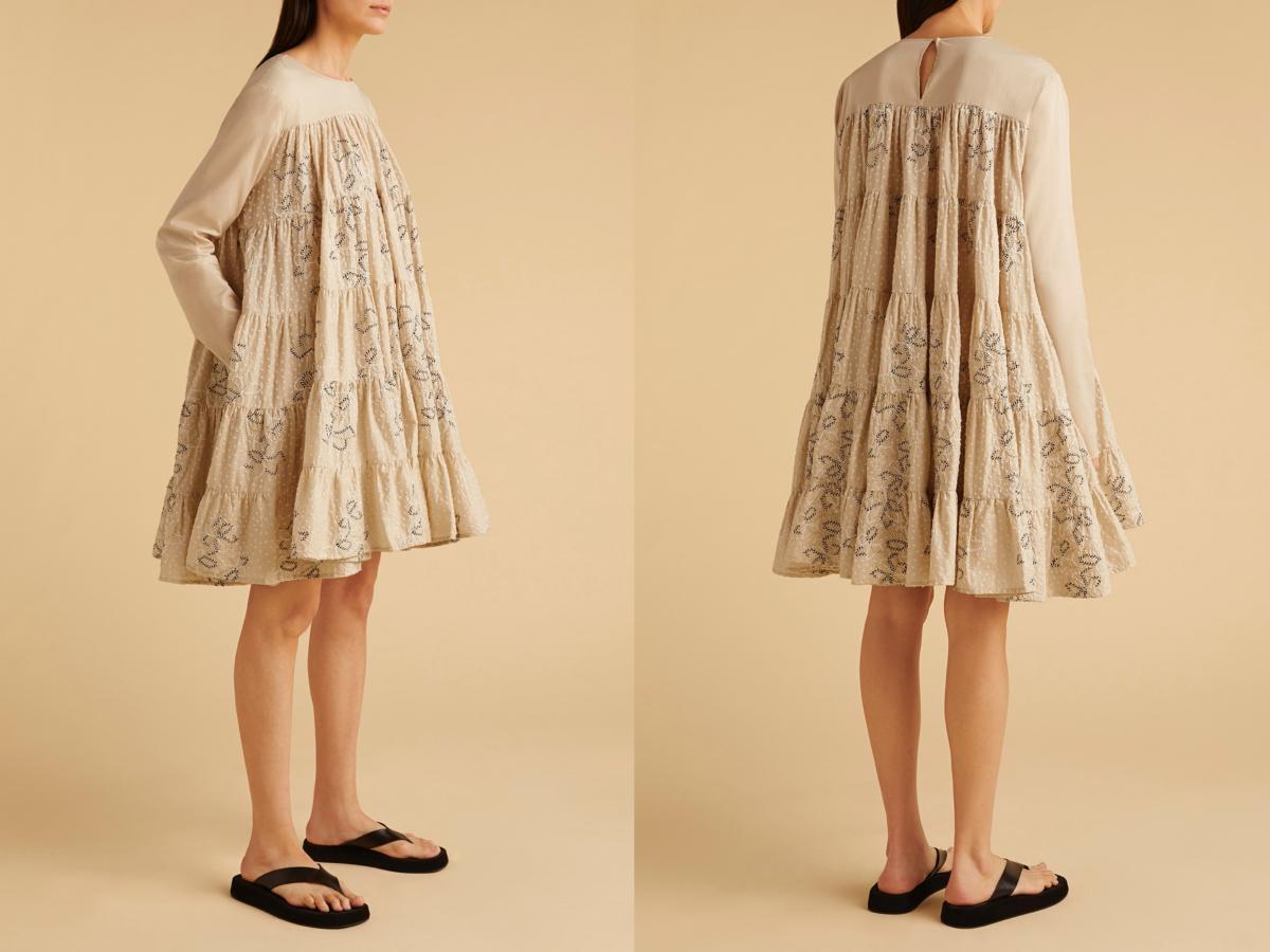 5周年記念SOLIMANドレス ¥79,200/サザビーリーグ(マーレット)
