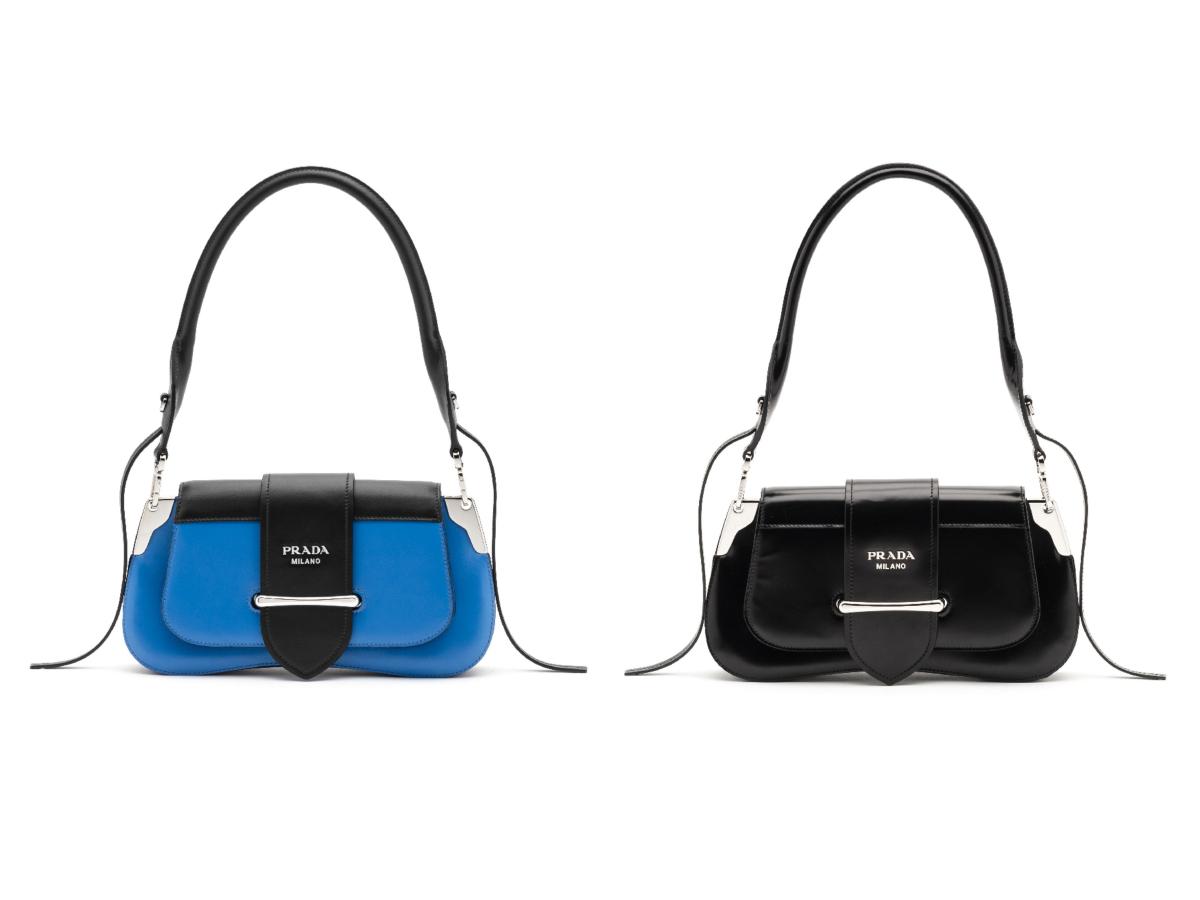 バッグ「プラダ シドニー」〈H14×W28×D4cm〉 ¥350,000(予定価格)/プラダクライアントサービス