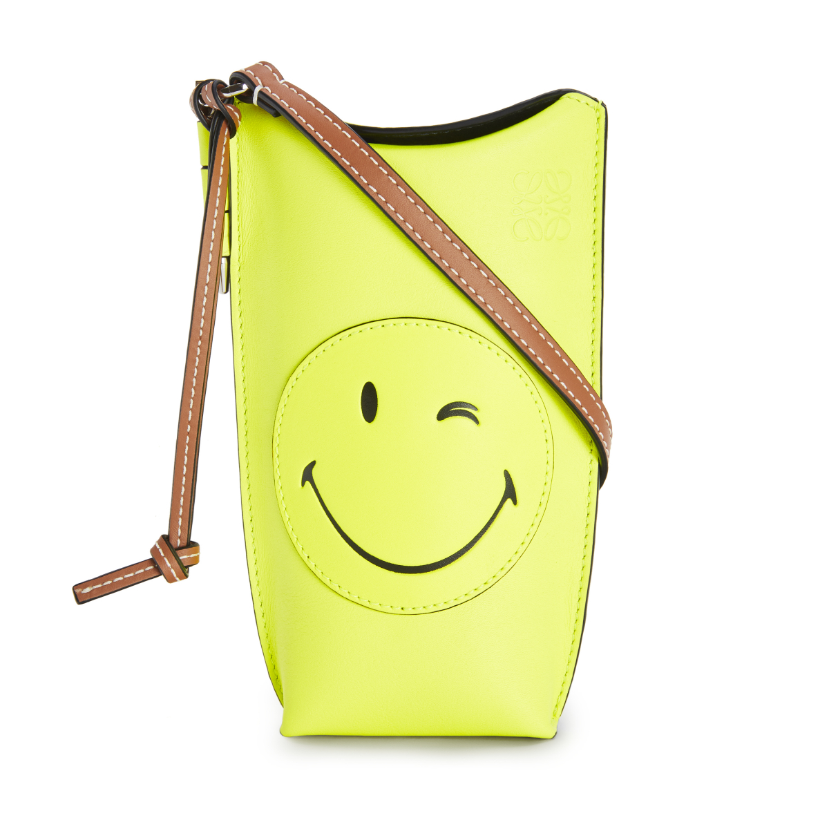 PAULA GATE POCKET SMILEY WINK(H19×W8×D4cm)¥98,000 ※日本限定/ロエベ ジャパン クライアントサービス LOEWE Paula's 2020 featuring SmileyWorld®