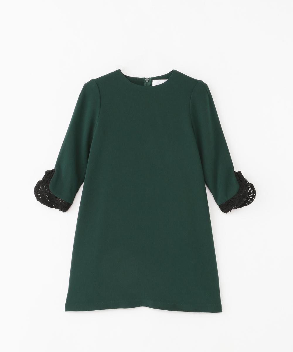ドレス(ガールズ)100cm/120cm(2サイズ展開)¥30,000/伊勢丹新宿店(マメ)