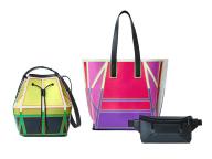 グッド グッズイッセイミヤケから、色鮮やかでグラフィカルな新作バッグ「ガストン キャンバス」が登場!