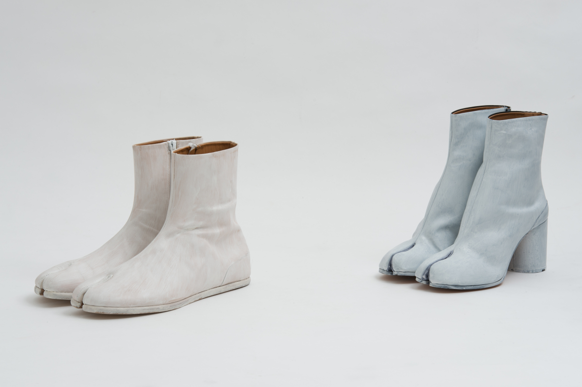 Limited edition 'Tabi' boots for Maison Margiela Omotesando boutique 10th anniversary ¥135,000(ウィメンズ)、¥115,000(メンズ)