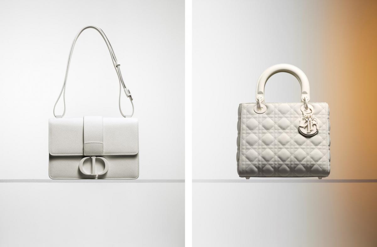 左から:「30 モンテーニュ」¥370,000 (参考色)、 「レディ ディオール」¥500,000