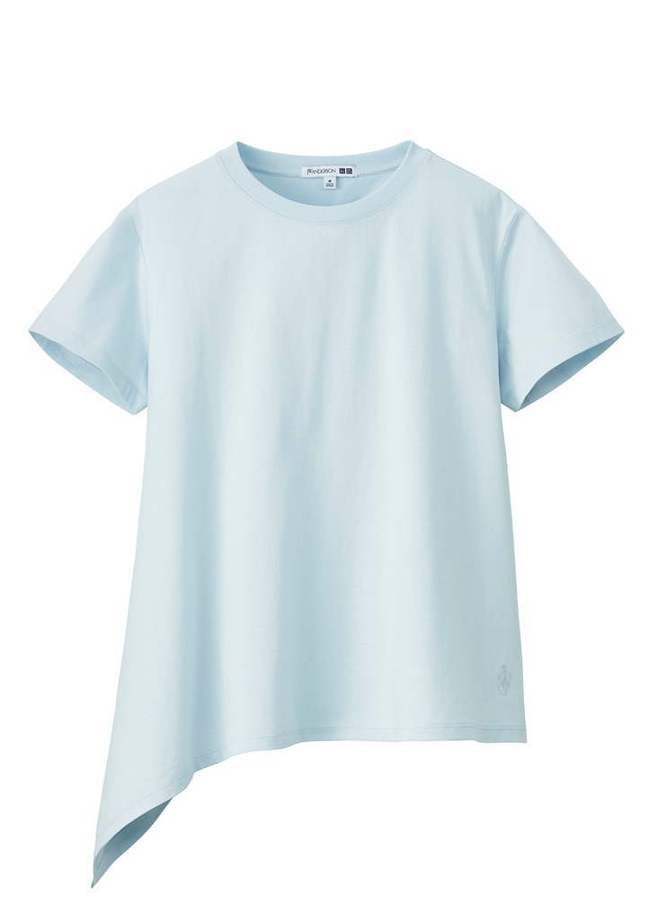 アシンメトリーTシャツ ¥1,500/ユニクロ(ユニクロ アンド ジェイ ダブリュー アンダーソン)