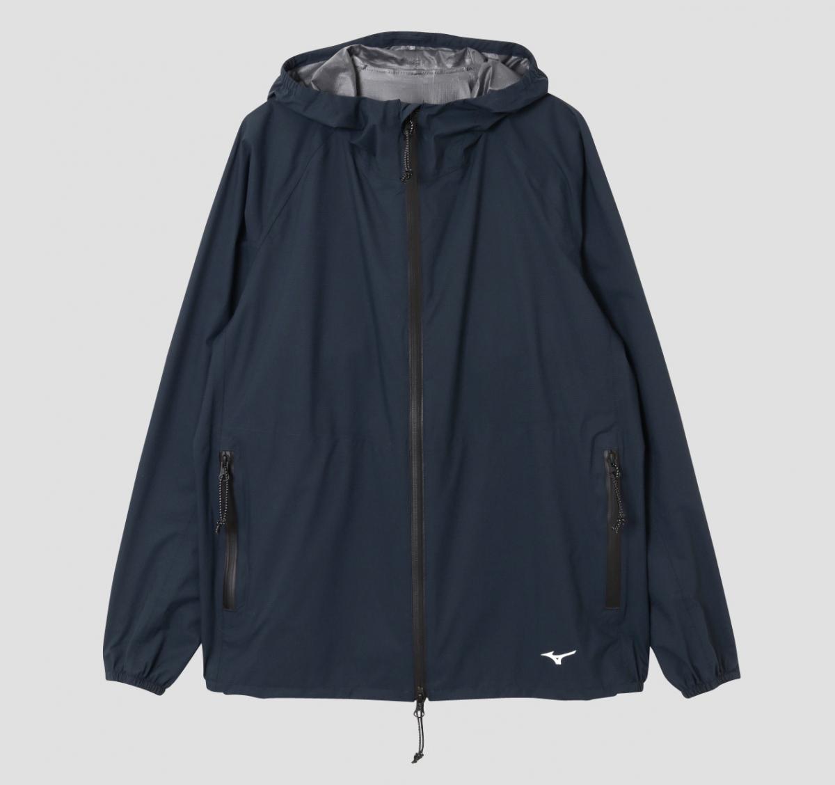 ジャケット(メンズ)¥36,000、(ウィメンズ)¥36,000/アングローバル (マーガレット・ハウエル × ミズノ)