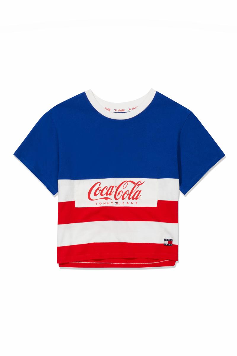 TJW TOMMY X COCA COLA STRIPE TEE ¥8,000/トミー ヒルフィガー カスタマーサービス(トミー ジーンズコカ•コーラ)